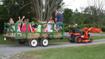 1000 Islands Campground Hayrides
