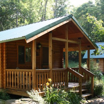 Cabin for Rent at Campground