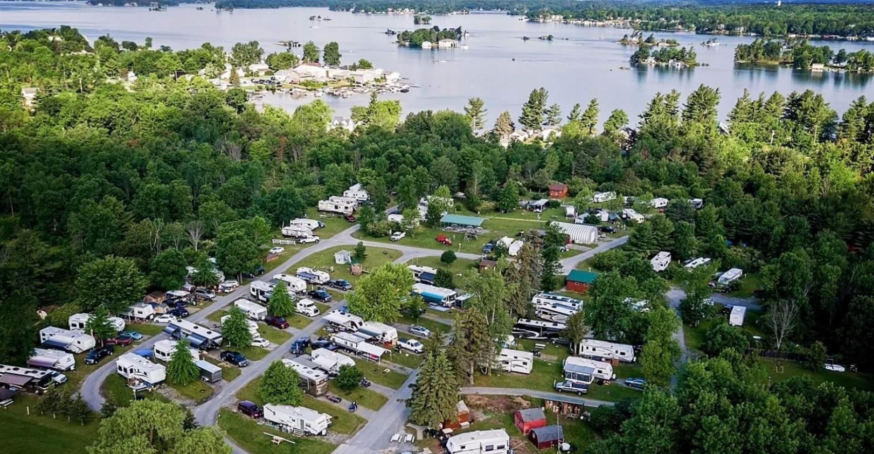 1000 Islands campground